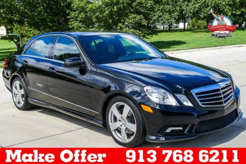 2011 Mercedes-Benz E350 4 MATIC AWD